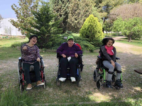 Visita Escuela jardinería El Pinar