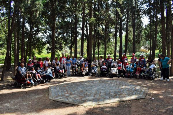 Excursión Parque Grande CEE San Germán. ASPACE Zaragoza