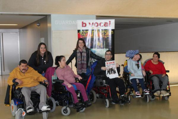 ASPACE Zaragoza en el concierto de B vocal