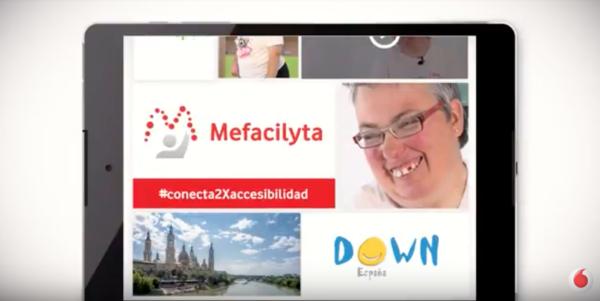 Mefacylita. Vodafone. ASPACE Zaragoza