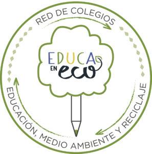 Sello Red de colegios EducaEnEco