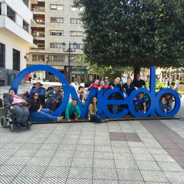 Vacaciones en Asturias, ASPACE Zaragoza